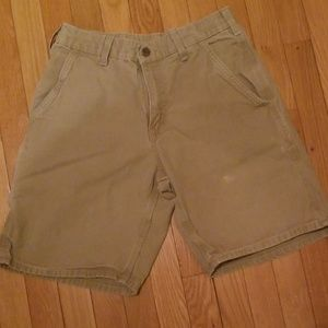 Carhartt khaki shorts